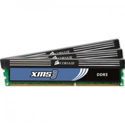 Corsair - CMX6GX3M3A1600C9 - Corsair XMS3 6GB DDR3 SDRAM Memory Module - 6GB (3 x 2GB) - 1600MHz DDR3-1600/PC3-12800 - DDR3 SDRAM - 240-pin DIMM