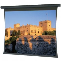 "Da-Lite - 98807 - Da-Lite Large Tensioned Cosmopolitan 98807 Electric Projection Screen - 188"" - 16:9 - Wall Mount, Ceiling Mount - 92"" x 164"" - High Contrast Da-Mat"