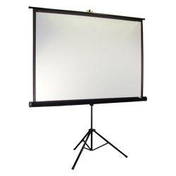 """Elite Screens - T119UWS1-PRO - Elite Screens T119UWS1-Pro Tripod Pro Portable Tripod Manual Pull Up Projection Screen (119"""" 1:1 Aspect Ratio) (MaxWhite) - 84"""" x 84"""" - MaxWhite"""
