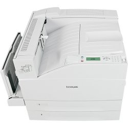 Lexmark - 19Z0005 - Lexmark W850N Laser Printer - Monochrome - 1200 x 1200 dpi Print - Plain Paper Print - Desktop - 50 ppm Mono Print - 1100 sheets Standard Input Capacity - 300000 Duty Cycle - Automatic Duplex Print - Ethernet - USB