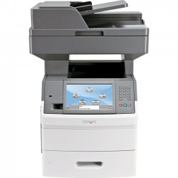 Lexmark - 16M0159 - Lexmark X650 X654DE Laser Multifunction Printer - Monochrome - Plain Paper Print - Desktop - Copier/Fax/Printer/Scanner - 55 ppm Mono Print - 1200 x 1200 dpi Print - Automatic Duplex Print - 55 cpm Mono Copy - 1 x Input Tray 550 Sheet,