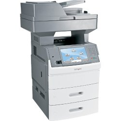 Lexmark - 16M0171 - Lexmark X650 X656DTE Laser Multifunction Printer - Monochrome - Plain Paper Print - Copier/Fax/Printer/Scanner - 55 ppm Mono Print - 1200 x 1200 dpi Print - Automatic Duplex Print - 55 cpm Mono Copy - 1 x Input Tray 550 Sheet, 1 x