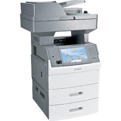Lexmark - 16M0171 - Lexmark X650 X656DTE Laser Multifunction Printer - Monochrome - Plain Paper Print - Copier/Fax/Printer/Scanner - 55 ppm Mono Print - 1200 x 1200 dpi Print - Automatic Duplex Print - 55 cpm Mono Copy - 1 x Input Tray 550 Sheet, 1 x