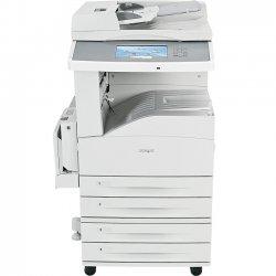 "Lexmark - 19Z4052 - Lexmark X862DTE 3 Laser Multifunction Printer - Monochrome - Plain Paper Print - Floor Standing - Copier/Printer/Scanner - 45 ppm Mono Print - 1200 x 1200 dpi Print - Automatic Duplex Print - 45 cpm Mono Copy - 9"" Touchscreen - 600 dpi"