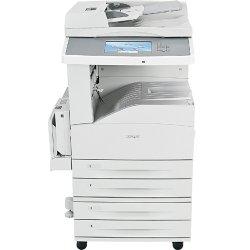 "Lexmark - 19Z4075 - Lexmark X860 X862DTE 4 Laser Multifunction Printer - Monochrome - Plain Paper Print - Floor Standing - Copier/Fax/Printer/Scanner - 45 ppm Mono Print - 45 cpm Mono Copy - 9"" Touchscreen - 600 dpi Optical Scan - Automatic Duplex Print -"