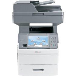 """Lexmark - 16M0125 - Lexmark X650 X656DE Laser Multifunction Printer - Monochrome - Plain Paper Print - Copier/Fax/Printer/Scanner - 55 ppm Mono Print - 1200 x 1200 dpi Print - Automatic Duplex Print - 55 cpm Mono Copy - 9"""" Touchscreen - 600 dpi Optical"""