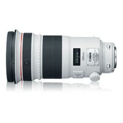 Canon - 4411B002 - Canon 4411B002 - 300 mm - f/2.8 - Telephoto Lens for Canon EF/EF-S - 52 mm Attachment - USM - 5Diameter
