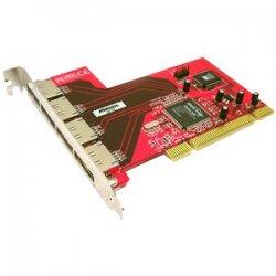 Addonics Technologies - ADSA4R5 - Addonics 4-port SATA RAID Controller - PCI-X - 300MBps - 4 x 7-pin Serial ATA/300 - Serial ATA Internal