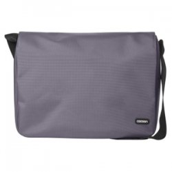 "Cocoon Innovations - CMB351GY - Cocoon CMB351GY Carrying Case (Messenger) for 13"" Notebook - Gunmetal Gray - Ballistic Nylon - 11.8"" Height x 3.9"" Width x 14.6"" Depth"