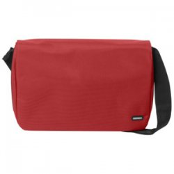 "Cocoon Innovations - CMB401 - Cocoon Soho Carrying Case (Messenger) for 16"" Notebook, Document, Accessories, iPod, iPhone - Red - Water Resistant - Shoulder Strap - 11.8"" Height x 16.1"" Width x 3.9"" Depth"