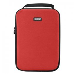 """Cocoon Innovations - CNS342RD - Cocoon CNS342RD Carrying Case (Sleeve) for 10.2"""" Netbook - Racing Red - Ballistic Nylon, Neoprene - 11.4"""" Height x 1.2"""" Width x 8.3"""" Depth"""