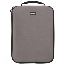 "Cocoon Innovations - CLS357GY - Cocoon CLS357GY Carrying Case (Sleeve) for 13"" Notebook - Gunmetal Gray - Neoprene, Ballistic Nylon - 13.8"" Height x 1.1"" Width x 10.6"" Depth"