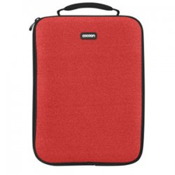 "Cocoon Innovations - CLS357RD - Cocoon CLS357RD Carrying Case (Sleeve) for 13"" Notebook - Racing Red - Neoprene, Ballistic Nylon - 13.8"" Height x 1.1"" Width x 10.6"" Depth"