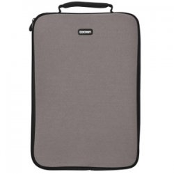 "Cocoon Innovations - CLS406GY - Cocoon CLS406GY Carrying Case (Sleeve) for 16"" Notebook - Gunmetal Gray - Neoprene, Ballistic Nylon - 15.4"" Height x 1.1"" Width x 11.2"" Depth"
