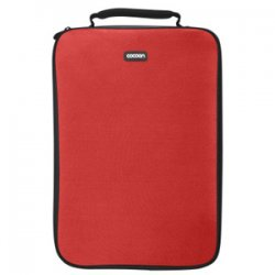 "Cocoon Innovations - CLS406RD - Cocoon CLS406RD Carrying Case (Sleeve) for 16"" Notebook - Racing Red - Neoprene, Ballistic Nylon - 15.4"" Height x 1.1"" Width x 11.2"" Depth"