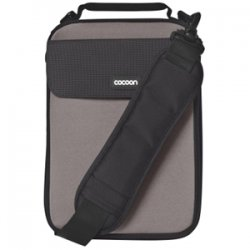 "Cocoon Innovations - CNS343GY - Cocoon CNS343GY Carrying Case (Sleeve) for 10.2"" Netbook - Gunmetal Gray - Neoprene, Ballistic Nylon - 11.4"" Height x 1.6"" Width x 8.3"" Depth"