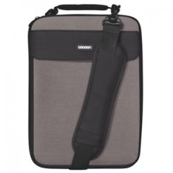 "Cocoon Innovations - CLS358GY - Cocoon CLS358GY Carrying Case for 13"" Notebook - Gunmetal Gray - Neoprene, Ballistic Nylon - 14"" Height x 1.6"" Width x 10.2"" Depth"