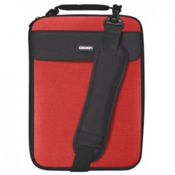 "Cocoon Innovations - CLS358RD - Cocoon CLS358RD Carrying Case for 13"" Notebook - Racing Red - Neoprene, Ballistic Nylon - 14"" Height x 1.6"" Width x 10.2"" Depth"