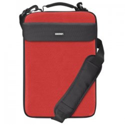 "Cocoon Innovations - CLS407RD - Cocoon CLS407RD Carrying Case for 16"" Notebook - Racing Red - Neoprene, Ballistic Nylon - 15.7"" Height x 1.6"" Width x 10.8"" Depth"