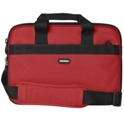 "Cocoon Innovations - CLB359RD - Cocoon CLB359RD Carrying Case for 13"" Notebook - Racing Red - Ballistic Nylon - 10.5"" Height x 1.3"" Width x 14.5"" Depth"