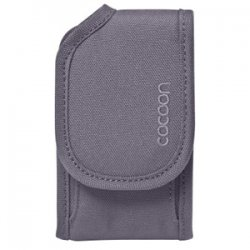 "Cocoon Innovations - CCPC40GY - Cocoon CCPC40GY Carrying Case (Pouch) for iPhone - Gunmetal Gray - Nylon - 4.9"" Height x 2.9"" Width x 1.3"" Depth"