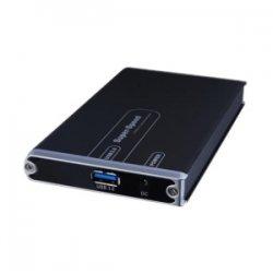 """Sabrent - EC-3US25 - Sabrent EC-3US25 Drive Enclosure External - Black - 1 x Total Bay - 1 x 2.5"""" Bay - Serial ATA/300 - USB 3.0"""
