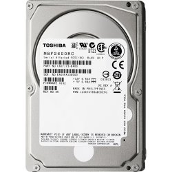 "Toshiba - MBF2600RC - Toshiba MBF2-RC MBF2600RC 600 GB 2.5"" Internal Hard Drive - SAS - 10025rpm - 16 MB Buffer - Hot Swappable"
