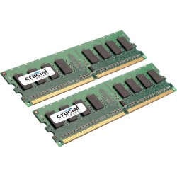 Crucial Technology - CT2K8G3ERVLD8160B - Crucial 16GB (2 x 8 GB) DDR3 SDRAM Memory Module - 16 GB (2 x 8 GB) - DDR3 SDRAM - 1600 MHz DDR3-1600/PC3-12800 - 1.35 V - ECC - Registered - 240-pin - DIMM