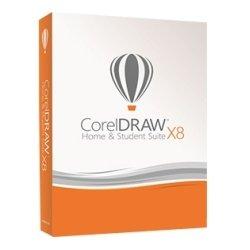 Corel - CDHSX8ENMBAM - Corel CorelDRAW X8 Home & Student Suite - Box Pack - Graphics/Designing Mini Box - PC - English