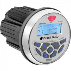 Planet Audio - PGR35B - Planet Audio PGR35B Gauge MECH-LESS Receiver, with Audio Streaming - Plays   MP3/USB