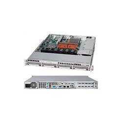 Supermicro - CSE-815TQ-560UB - Supermicro SC815TQ-560UB Chassis - Rack-mountable - Black