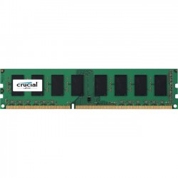 Crucial Technology - CT102464BD160B - Crucial 8GB (1 x 8 GB) DDR3 SDRAM Memory Module - 8 GB (1 x 8 GB) - DDR3 SDRAM - 1600000 MHz DDR3-1600/PC3-12800 - 1.35 V - Non-ECC - Unbuffered - 240-pin - DIMM