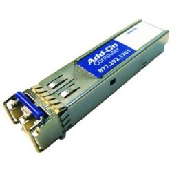 AddOn - J4859C-AOT - AddOn HP J4859C Compatible TAA Compliant 1000Base-LX SFP Transceiver (SMF, 1310nm, 10km, LC) - 100% compatible and guaranteed to work