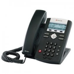 Polycom - 2200-12375-001 - Polycom SoundPoint IP 335 IP Phone - 2 x Total Line - VoIP - PoE Ports