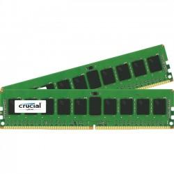 Crucial Technology - CT2K8G4RFS4213 - Crucial 16GB (2 x 8 GB) DDR4 SDRAM Memory Module - 16 GB (2 x 8 GB) - DDR4 SDRAM - 2133 MHz DDR4-2133/PC4-17000 - 1.20 V - ECC - Registered - 288-pin - DIMM