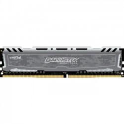 Crucial Technology - BLS16G4D240FSB - Crucial 16GB Ballistix Sport LT DDR4 SDRAM Memory Module - 16 GB - DDR4 SDRAM - 1.20 V - Unbuffered - 288-pin - DIMM