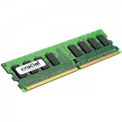 Crucial Technology - CT51264BD160B - Crucial 4GB DDR3 SDRAM Memory Module - 4 GB - DDR3 SDRAM - 1600 MHz DDR3-1600/PC3-12800 - Non-ECC - Unbuffered - 240-pin - DIMM
