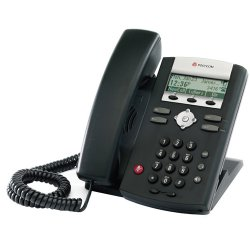 Polycom - 2200-12360-001 - Polycom SoundPoint IP321 IP Phone - 1 x Headset, 1 x RJ-45 10/100Base-TX - 2Phoneline(s) - Wall-mountable, Desktop