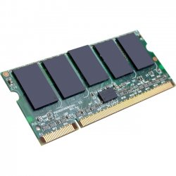 AddOn - A1545513-AA - AddOn Dell A1545513 Compatible 1GB DDR2-800MHz Unbuffered Dual Rank 1.8V 200-pin CL6 SODIMM - 100% compatible and guaranteed to work