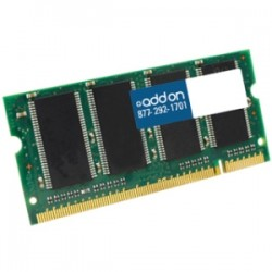 AddOn - A0388057-AA - AddOn Dell A0388057 Compatible 512MB DDR-333MHz Unbuffered Dual Rank 2.5V 200-pin CL2.5 SODIMM - 100% compatible and guaranteed to work