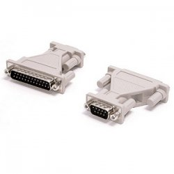 StarTech - AT925MM - StarTech.com DB-9 to DB-25 Serial Adapter - 1 Pack - 1 x DB-9 Male Serial - 1 x DB-25 Male Serial - Gray