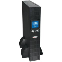 CyberPower - OR1500PFCRT2U - CyberPower OR1500PFCRT2U PFC Sinewave UPS System 1500VA 900W Rack/Tower PFC compatible Pure sine wave - 1500VA/900W - 2UTower/Rack Mountable - 7.7 Minute Full Load - 8 x NEMA 5-15R - Battery/Surge-protected