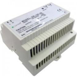 Comelit Group - 1441 - Comelit Riser Power Supply VIP 120W - 120 V AC, 230 V AC Input Voltage - 55 V DC Output Voltage - DIN Rail - 120 W