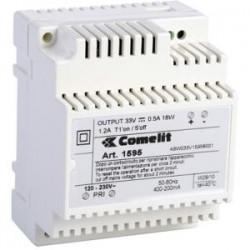 Comelit Group - 1595 - Comelit 33VDC Power Supply Unit For IKALL Entrance Panel - 120 V AC, 230 V AC Input Voltage - 33 V DC Output Voltage - DIN Rail