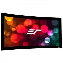 Elite Screens - CURVE150H-A1080P3 - Elite Screens Lunette Curve150H-A1080P3 Fixed Frame Projection Screen - 150 - 16:9 - Wall Mount - 73.6 x 130.7 - AcousticPro1080P3