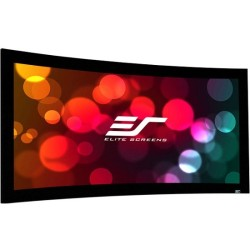 Elite Screens - CURVE180H-A1080P3 - 180in Diag Lunette Fixed Wall Acousticpro 1080p3 16:9 88x157in