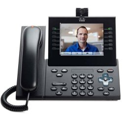 Cisco - CP-9971-C-CAM-K9= - Cisco 9971 IP Phone - Wireless - Wi-Fi - VoIP - IEEE 802.11a/b/g - Caller ID - USB - PoE Ports