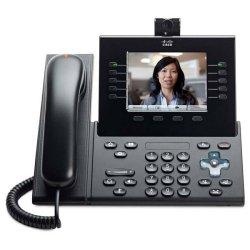 Cisco - CP-9951-C-CAM-K9= - Cisco 9951 IP Phone - Bluetooth - VoIP - Caller ID - USB - PoE Ports - Color