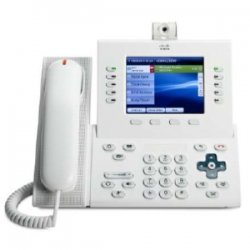 Cisco - CP-9951-W-CAM-K9= - Cisco 9951 IP Phone - Cable - Arctic White - 1 x Total Line - VoIP - Caller ID - Speakerphone - 2 x Network (RJ-45) - USB - Color