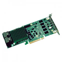 Supermicro - AOC-USAS2LP-H8IR - Supermicro LSI MegaRAID 2108 AOC-USAS2LP-H8IR 8-port SAS RAID Controller - Serial ATA/600 - PCI Express - Plug-in Card - RAID Supported - 0, 1, 5, 6, 10, 50, 60 RAID Level - 8 Total SAS Port(s) - 8 SAS Port(s) Internal